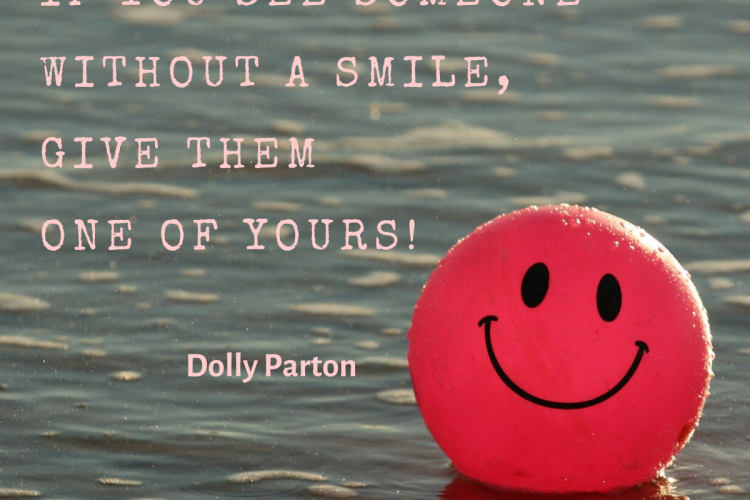 share your smile quote