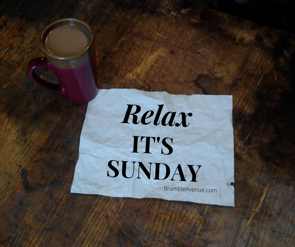relax it's sunday