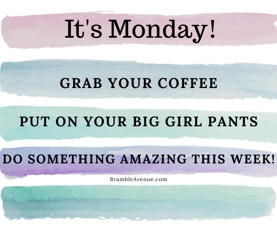 do something amazing this week image