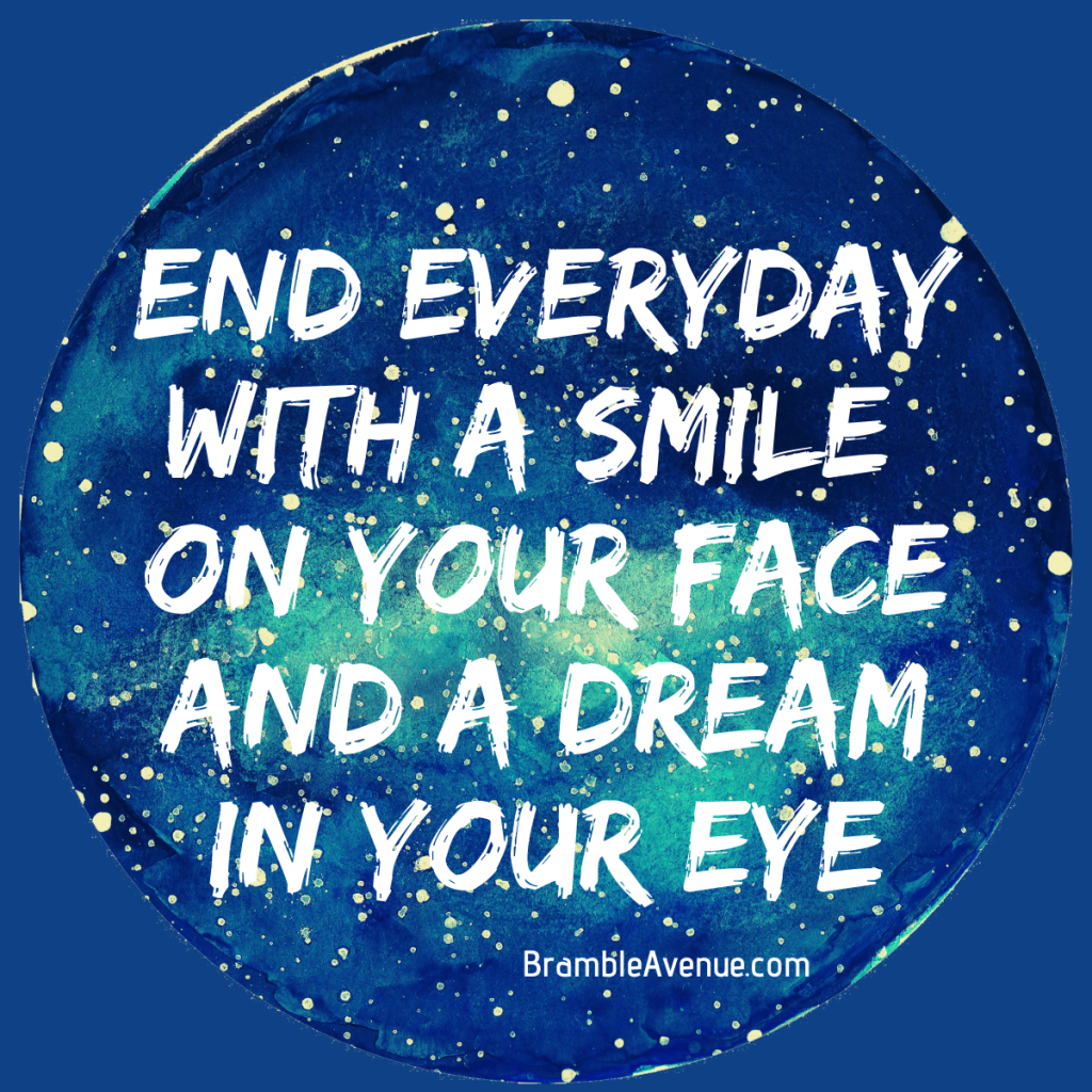 end day with smile