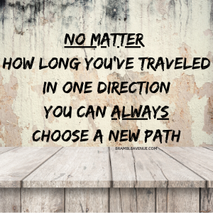 travel in a new direction