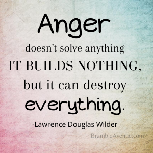 Anger solves nothing image