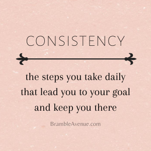 consistent is key to success