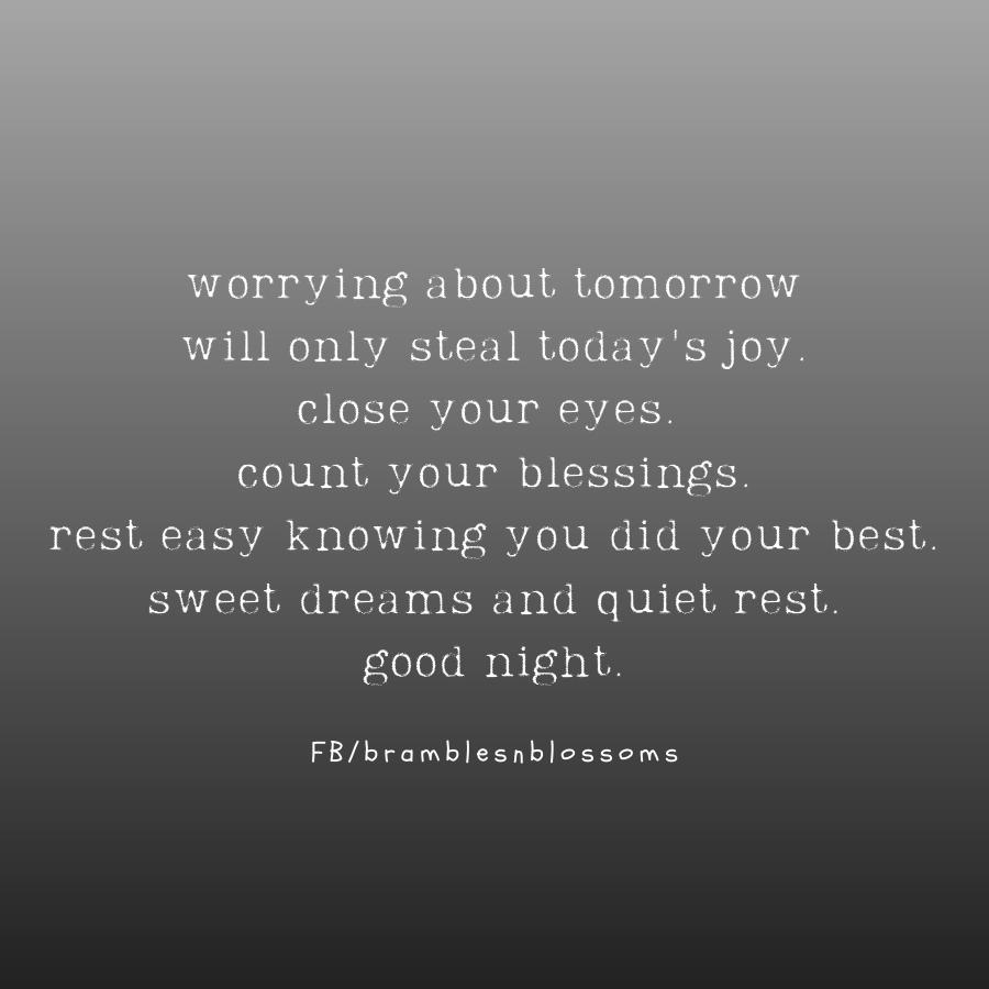 beautiful good night poem quote