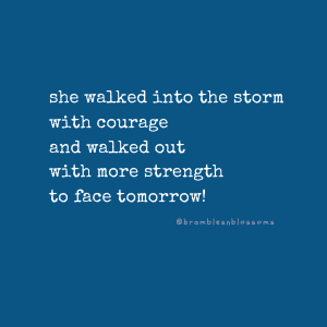strength from the storm quote