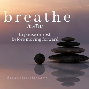 breathe peaceful image rest or pause