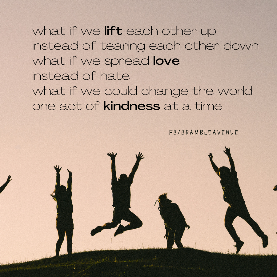 lift each other up quote