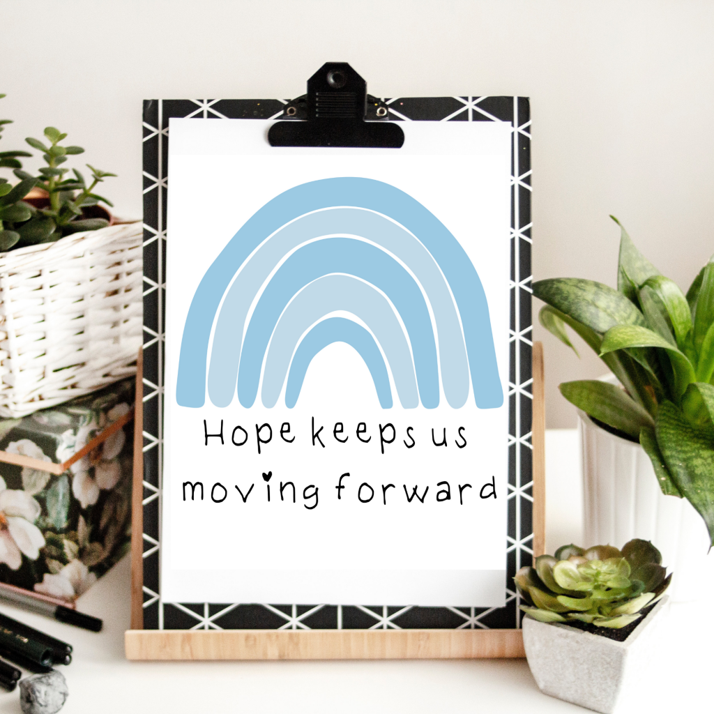 free printable hope quote