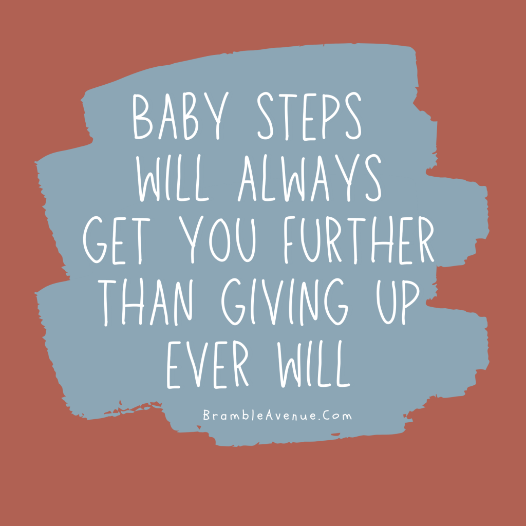 baby steps quote free image