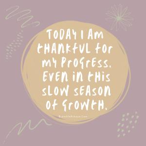 growth in slow season