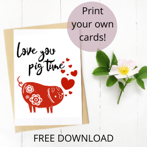 love you pig time free download