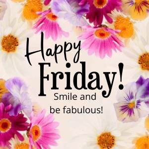 happy friday smile be fabulous free image