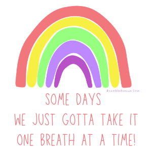 one breath at a time quote