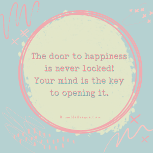 key to happiness is in your mind
