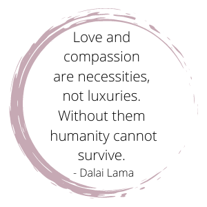 love and compassion quote