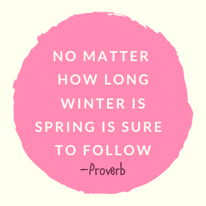 spring is coming quote