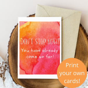 don't stop now free printable