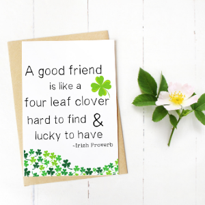 free printable st patty's day card