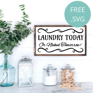 laundry today naked tomorrow free svg