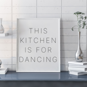 kitchen is for dancing free svg
