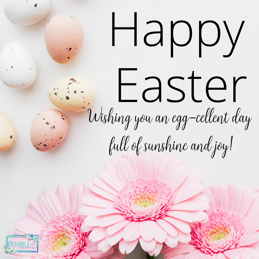 happy easter free image egg-cellent day quote