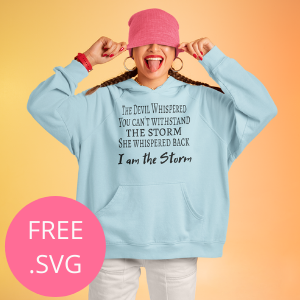 i am the storm free png svg