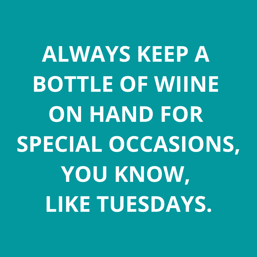 funny tuesday wine meme