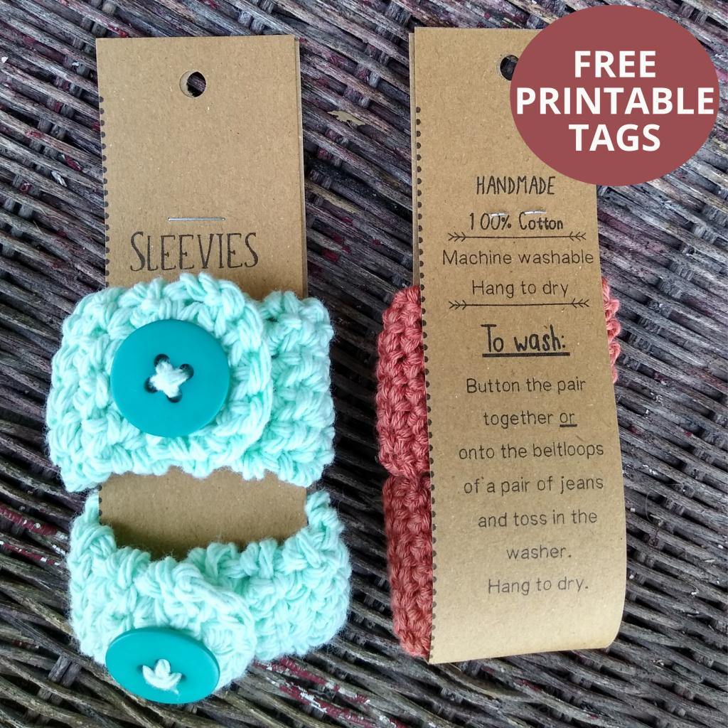 free printable sleeve holder tags