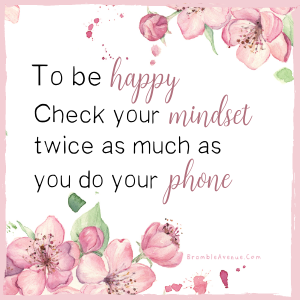 check your mindset quote free image