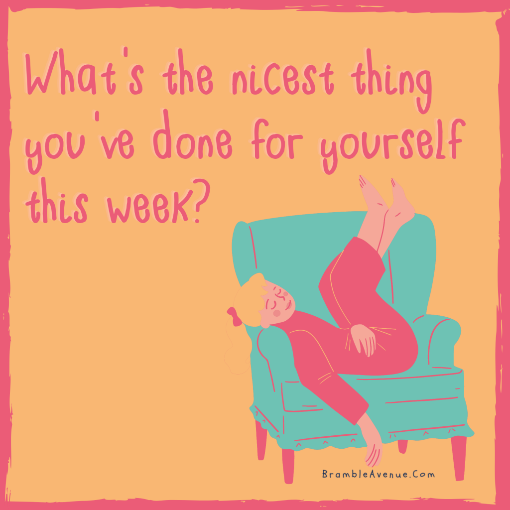 nicest thing you've done for yourself meme quote