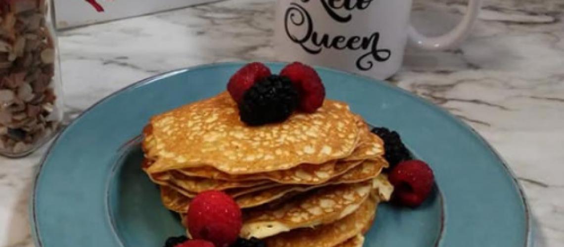 No flour keto pancakes