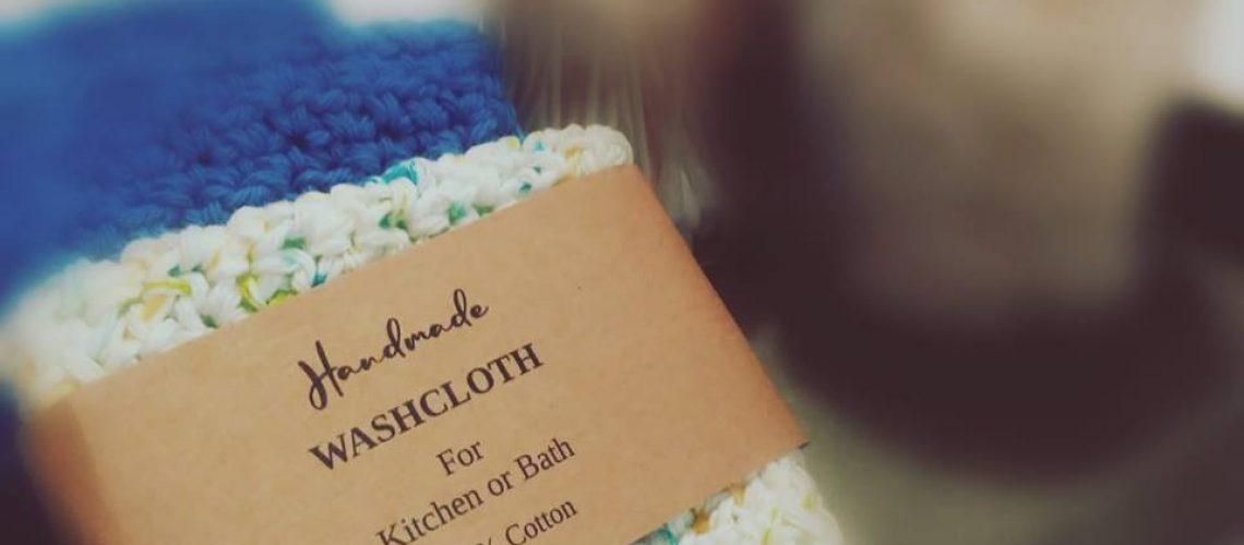 dishcloth wrapper