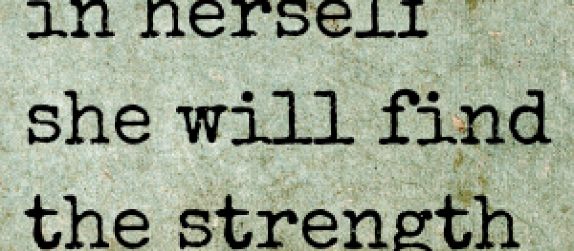 strength within quote